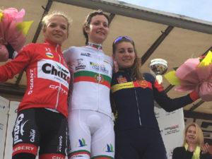 Podium Cyclisme CdF