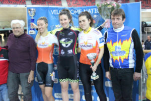Cyclisme Podium Coupe d'hiver
